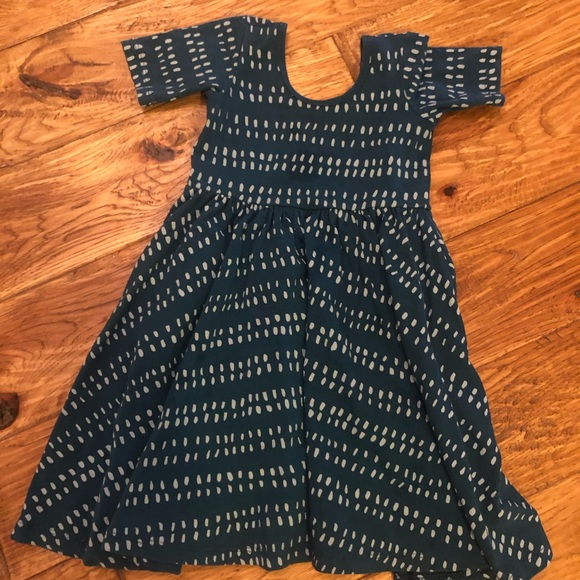 c17359f3bf9 Alice + Ames Other - Alice + Ames ballet dress in blue dash
